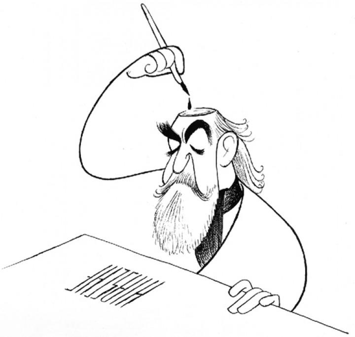 Al Hirschfeld – Caricaturist